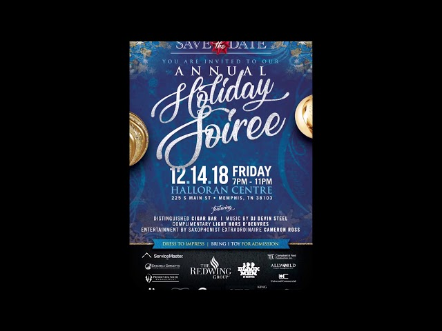 The Redwing Group presents the Annual Holiday Soiree
