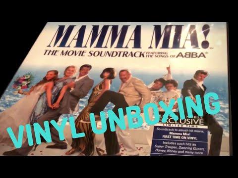 Mamma Mia! The Movie Soundtrack   VINYL UNBOXING