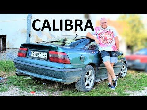 Opel Calibra TEST DRIVE 2.0 8v 115ks BURNOUT