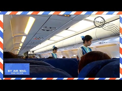 takeoff---bangkok-airways-airbus-a319-takeoff-from-koh-samui-airport---cabin-view