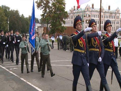 Старт финальных соревнований областной оборонно-спортивной игры «Зарница-2015»