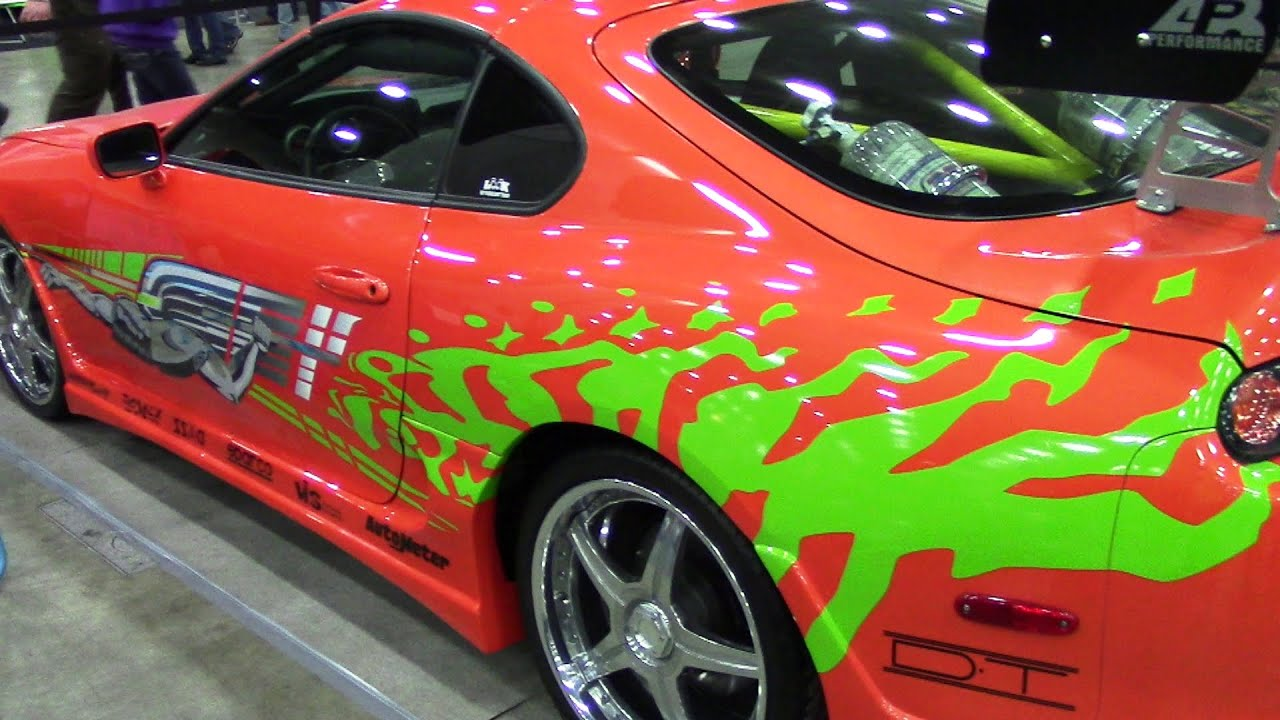 1993 Toyota Supra From Fast And Furious At Autorama 2015