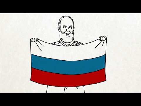 Вежливые русские - Как менялся российский флаг? (Серия 46)
