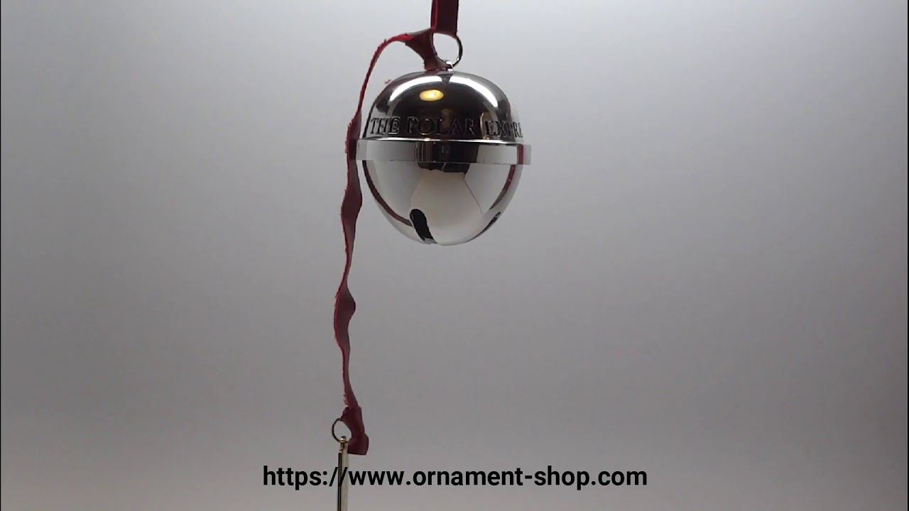 2018 Hallmark ornament - Polar Express Bell The First Gift ...
