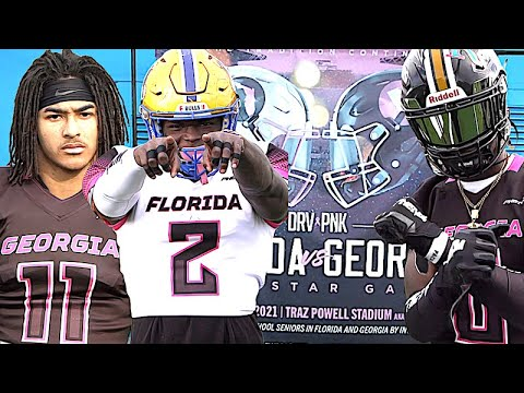 Florida vs Georgia All-Star Game | Featuring Many High School All-Americans and Blue-Chip Recruits