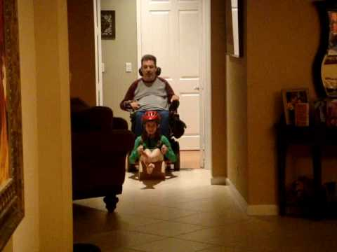 """Wheelchair Bobsledding """"boxsledding"""""""