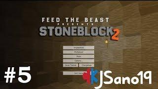 StoneBlock 2 - E05 -  Progress (Modded Minecraft)