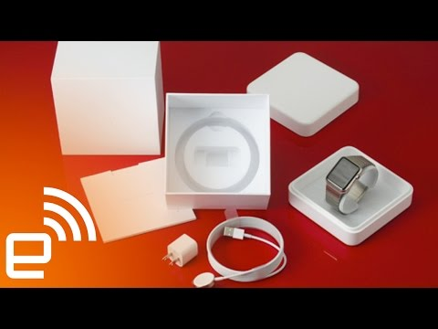 Apple Watch unboxing | Engadget