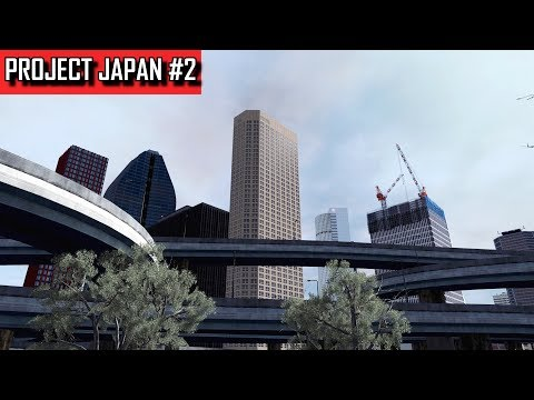 Cities: Skylines - PROJECT JAPAN #2 - Skyscraper construction and a refuge among glass and steel