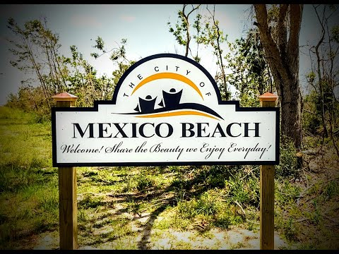 Images of mexico beach florida after michael