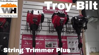 troybilt trimmer plus string trimmers and attachments   weekend handyman