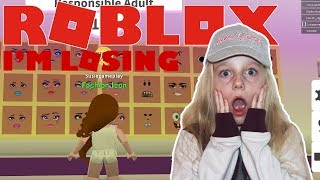 Roblox ⛄ Fashion Famous. I'm Losing|SuzieGamePlay