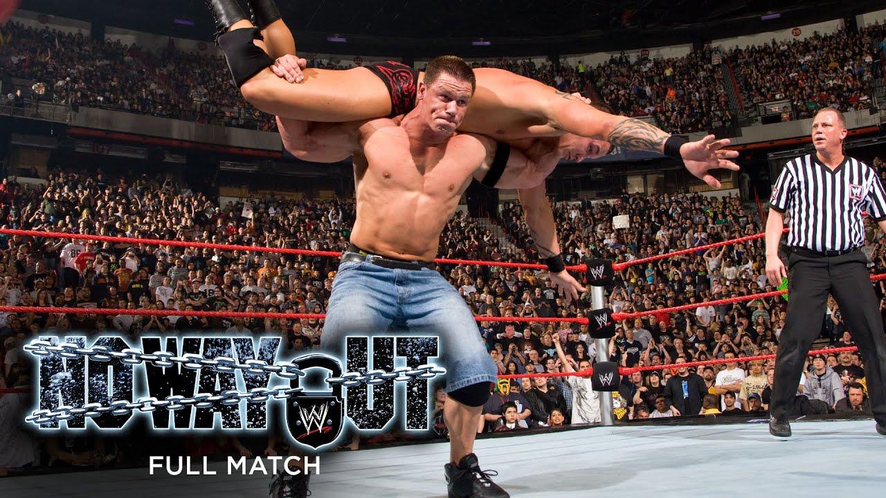 Download FULL MATCH - Randy Orton vs. John Cena - WWE Championship Match: WWE No Way Out 2008