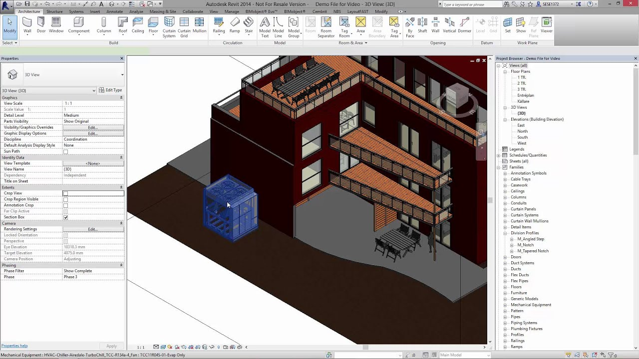 Airedale - Chiller BIM objects for Revit