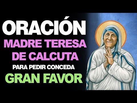 🙏 Oración milagrosa para pedir un gran FAVOR A LA MADRE TERESA DE CALCUTA 🙇