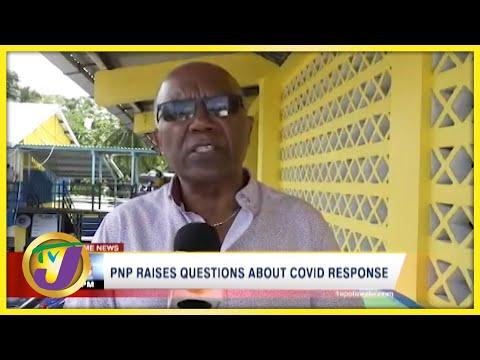 PNP Raises Questions about Covid Response   TVJ News - Sept 1 2021