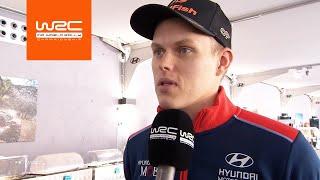 WRC EXCLUSIVE: Ott Tänak talks through Friday accident