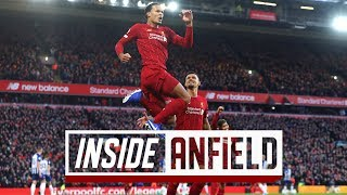Inside Anfield: Liverpool 2-1 Brighton | Exclusive behind-the-scenes tunnel access