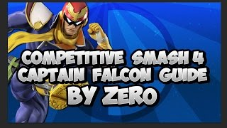 Competitive Smash Wii U/3DS Captain Falcon Guide - ZeRo (Subs Esp)