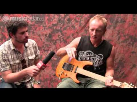 Total Guitar @ Download: Def Leppard's Phil Collen part 1