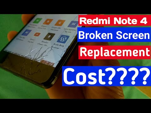 Xiaomi Redmi Note 4 Broken Screen Replacement Cost
