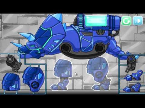 Dino Robot Euoplocephalus (Собрать робота эвоплоцефал) - прохождение игры