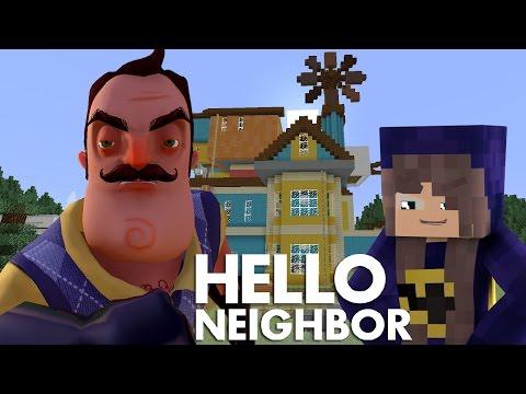 Minecraft Hello Neighbor - Alpha 4 Secrets | Batgirl Captured (minecraft Roleplay)