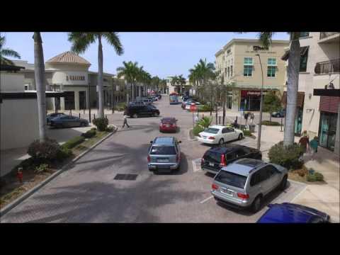 Naples Aerial Video - Mercato Eastbound Fly through