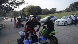 dirtbike rell philly birthday ride out