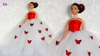 як зробити гарне плаття для ляльки барбі