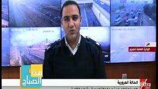 فيديو.. المرور: اشبورة تتسبب في غلق طريق مصر - إسكندرية الصحراوي