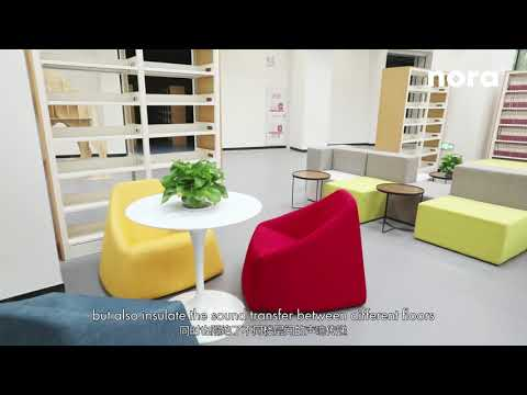 Weifang Hansen International School | Weifang City, China | nora® flooring