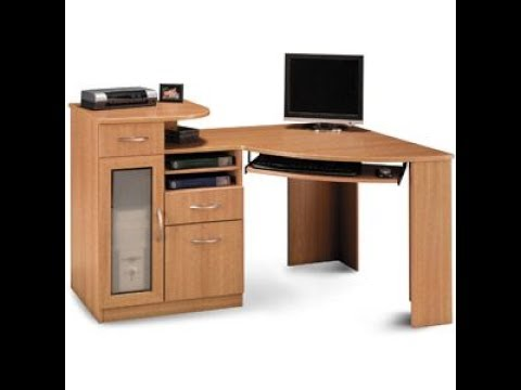 Computer Desk With Printer Shelf