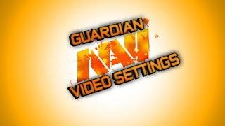 CSGO na'vi GuardiaN video settings   Відео налаштування GuardiaN'а з na'vi