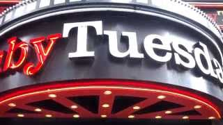 Ruby Tuesday on 7th Ave near Times Square, New York City, NY
