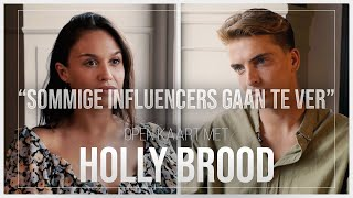 HOLLY BROOD over JEUGD, DRUGSGEBRUIK, INFLUENCERS & POSITIE in BED