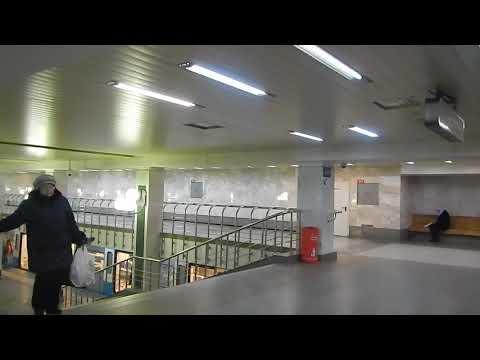 Переход со станции улица Старокачаловская на станцию бульвар Дмитрия Донского | Московское метро