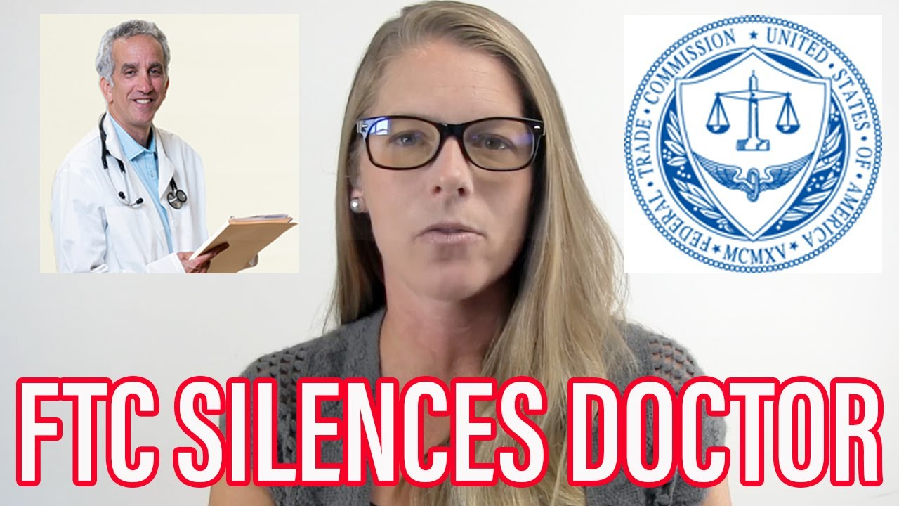 Successful Covid Doctor SILENCED by Federal Trade Commission