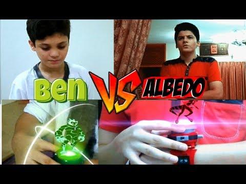 Ben 10  - Ben VS Albedo First Time (EP 2)...