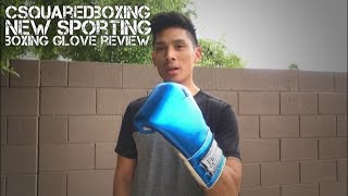 16 Ounce New Sporting Custom Metallic Boxing Gloves Review