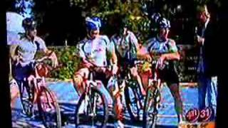 Repeat youtube video WB Interview about mountain bike ride with President Bush