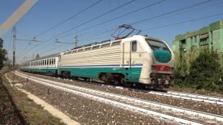 """Intercity 35388 Roma - Trieste on the """"Slow Line"""" near Monterotondo"""