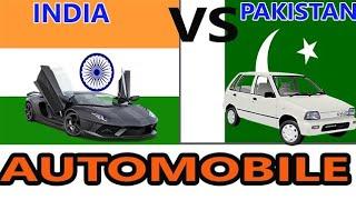 India vs Pakistan Automobile industries by Automobile Guruji,car video