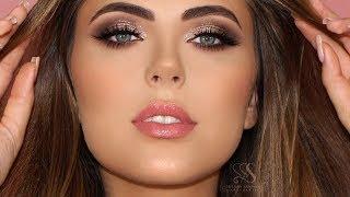 Neutral Glam Makeup | Melissa Samways thumbnail