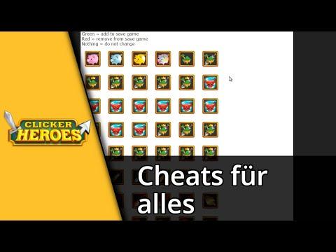 Clicker Heroes Tutorial | Cheats für alles [Deutsch/HD]