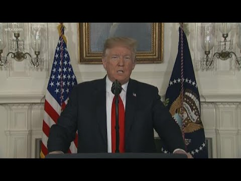 President Trump offers DACA protection for border wall deal: full speech on January 19, 2019