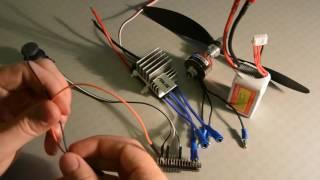 видео Управление бесколлекторным двигателем