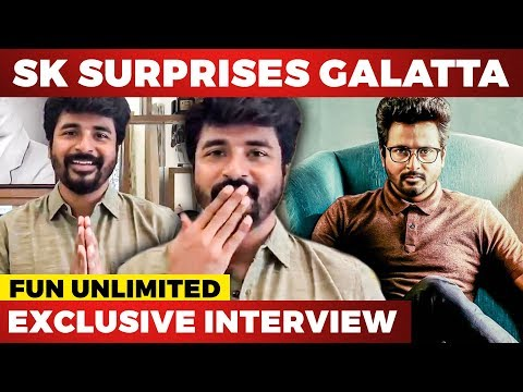 Sivakarthikeyan Makes A Surprise Entry During Live Interview |Nelson Dilipkumar |VJ Parvathy |Doctor