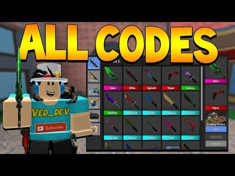 Roblox Murder Mystery 2 Codes Full Muder Mystery 2 Codes List 2020