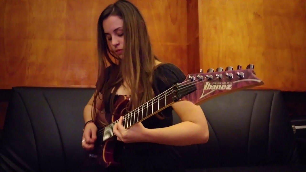 Prince - Purple Rain - Guitar Solo Cover by Eleonora Serri - YouTube d9e40318f13